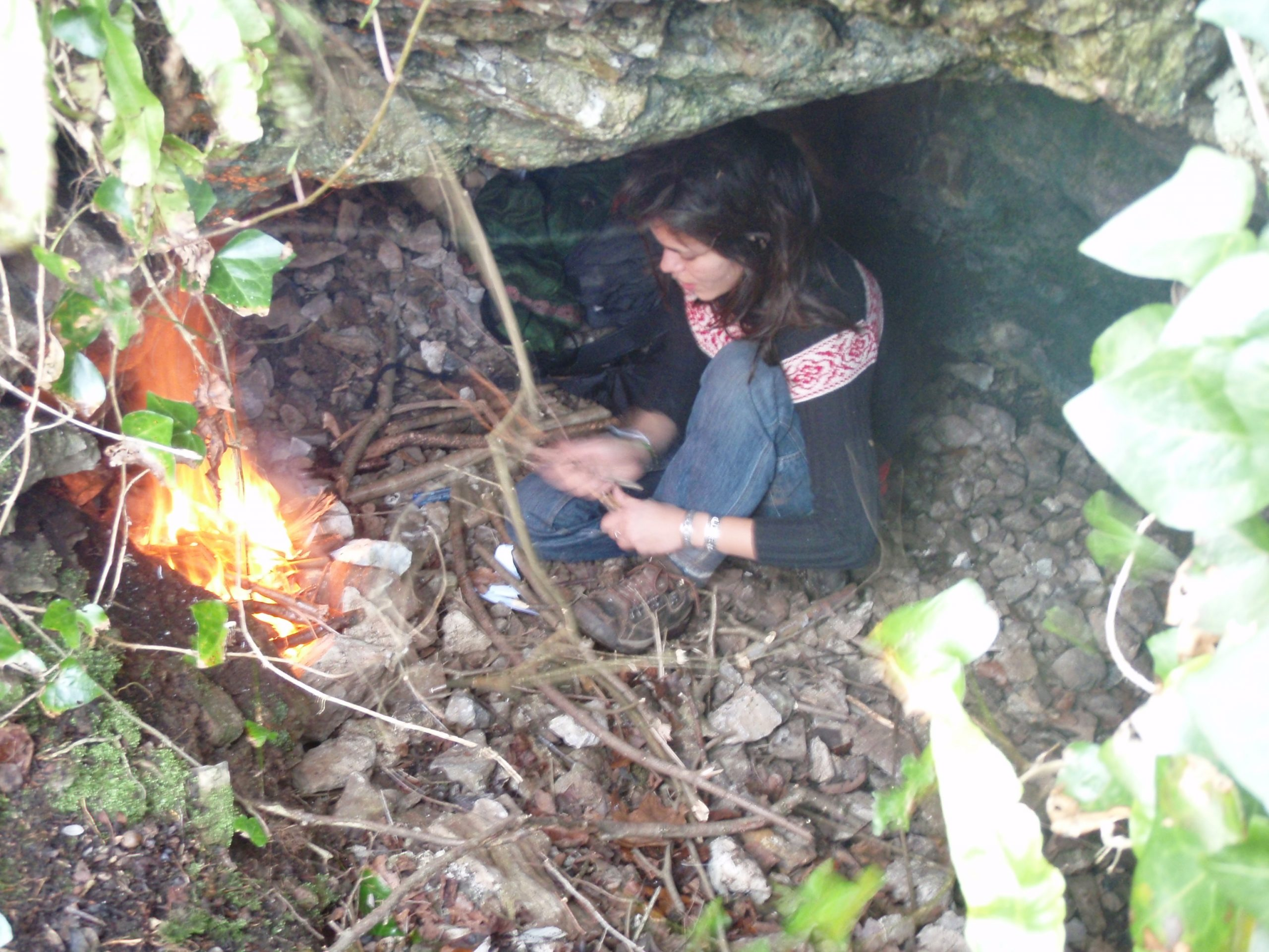 Finding Shelter in the Wilderness - Cave