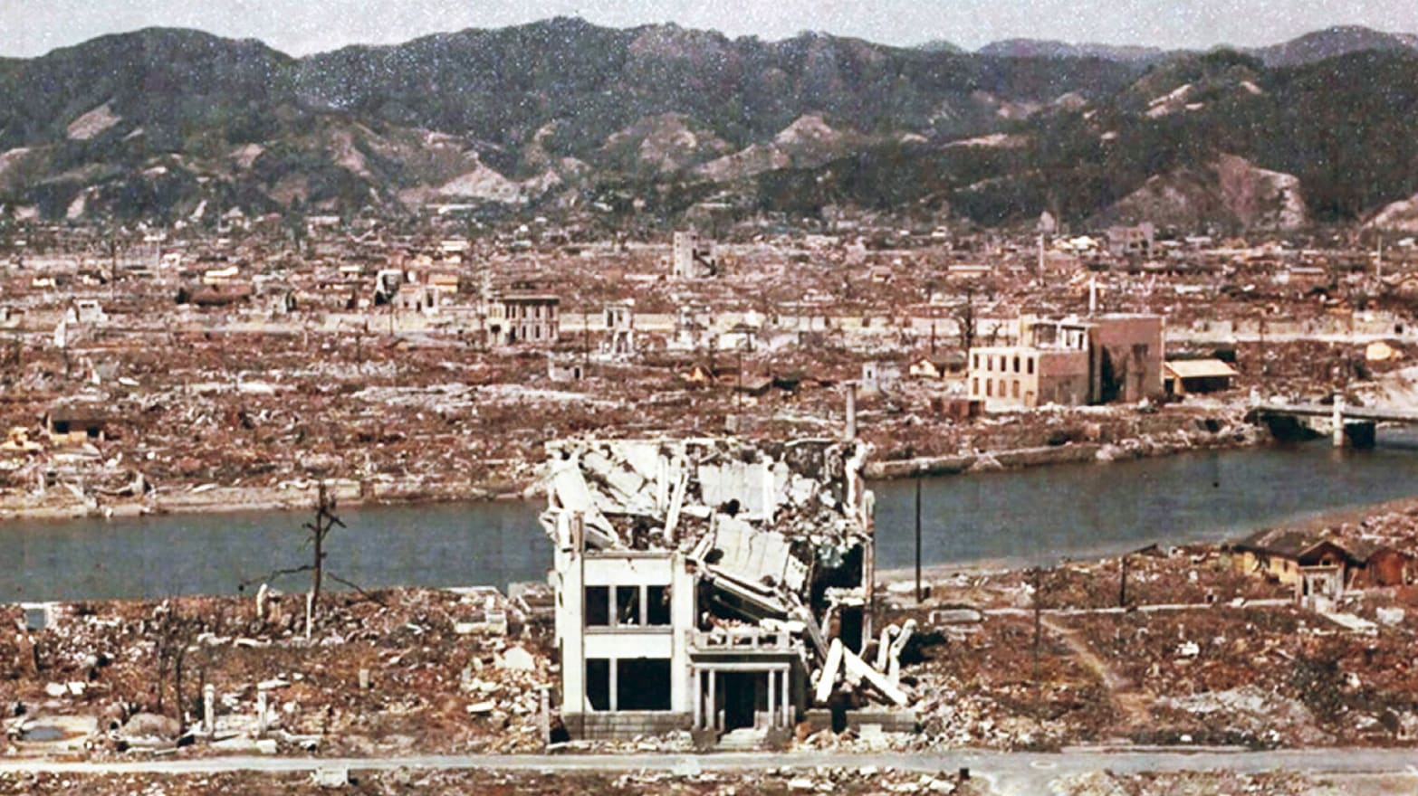 aftermath of nuclear bomb